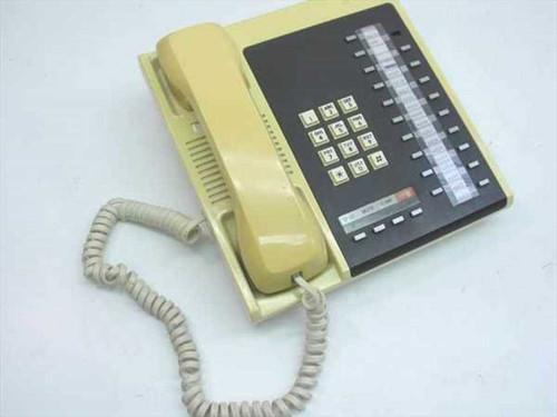 Toshiba 20 Function Keys Speaker Phone - yellow plastic EKT2203