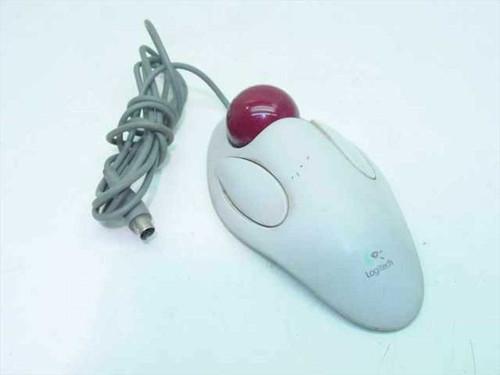 Logitech T-CM14  Mouse PS/2 Two Button Marble - 804292-0000