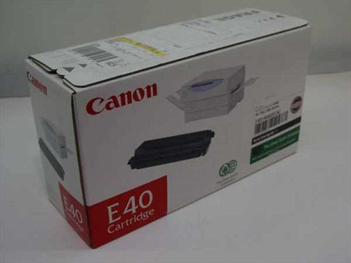 Canon 1491A002  Laser E40 Black Cartridge Pc 700 / 900 Series