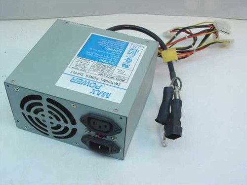 Max Power MPT-220P  220W ATX Power Supply
