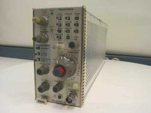 Tektronix Plug-in Delaying Time Base Module (7B85)