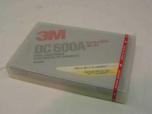3M DC 600A  60 MB Data Cartridge