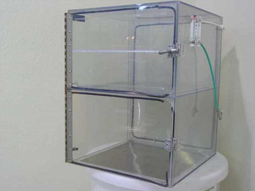 """Dwyer Instruments Dry Box  Plexiglass Dry Box Cabinet 19 1/2"""" x 19"""" x 24 1/2"""""""