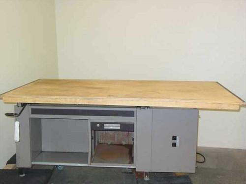 Mayline Company 8794-8  Steel Adjustable Drafting Table w/ Tool Drawer