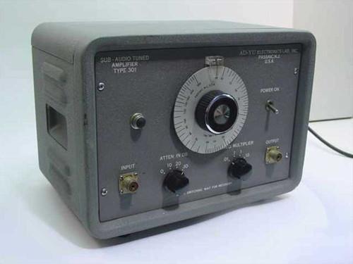 Ad-Yu Electronics 301  Sub-Audio Tuned Amplifier