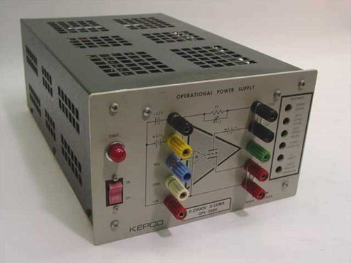 KEPCO Lab OPS2000  0-2000V 0-10MA Operational Power Supply