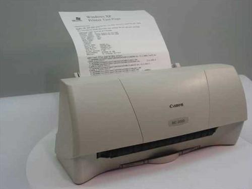 Canon BJC-2000  Color Bubble Jet Printer Model K10182