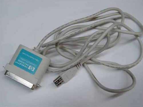"""HP C4033-60003  6' 11 1/2"""" USB - Parallel Converter Cable"""