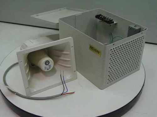 Revere R22SSDF  22 Watt Paging Horn 12VDC - Dual Channel