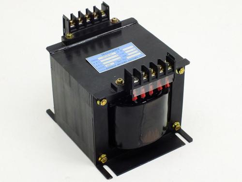 Kyoshin Keisoku Transformer PRI 200V, 1 PH, CAP 500VA, AMP 4.0.83A  50/60Hz