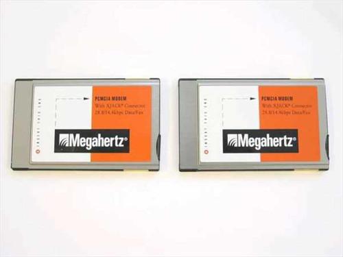 Megahertz XJ2288  28.8 PCMCIA Fax/Modem