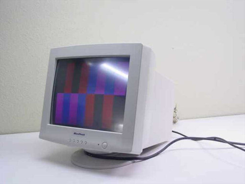"""IBM 41-1526-94  15"""" SVGA Microtouch Monitor - 14H0796 - As Is - No"""