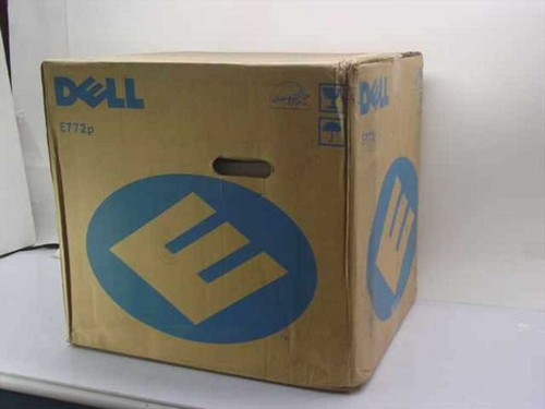 """Dell E772P  17"""" SVGA Color Monitor - Black - New"""