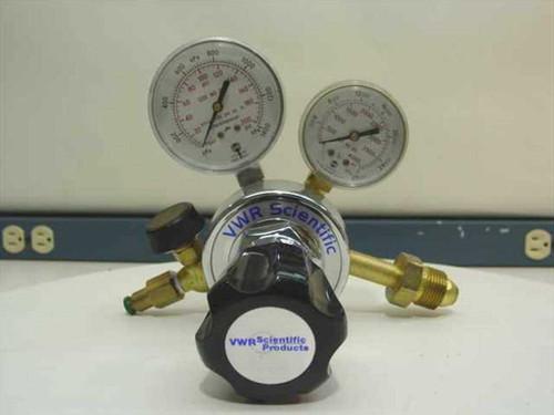 VWR 55850-265  Single Stage Metered Flow Valve - Helium