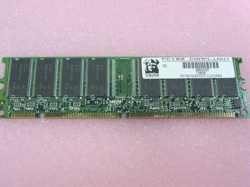 Viking 128MB 168 Pin PC100 SDRAM Memory PC100 NON-ECC CL2 DIMM