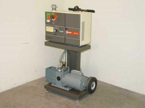 Varian 936-40  Porta-Test Helium Leak Detector w/Alcatel M2012A