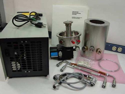 CTI Cryogenics Cryocooler  Cyrostat, Cold Head-Finger, Compressor, 110V Air