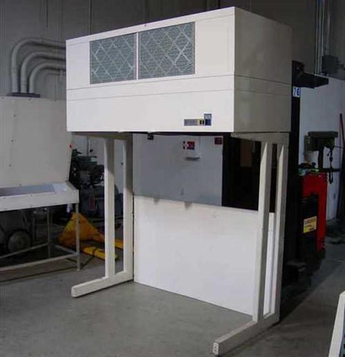 Pure Aire 3702043C  6' Laminar Flow Hood & Frame - Vertical
