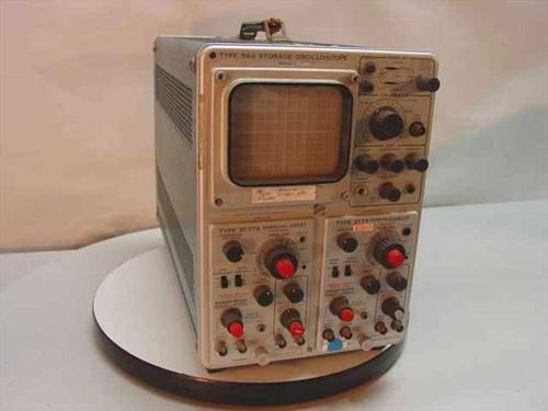 Tektronix 564  Storage Oscilloscope 3T77 3T77A - Vintage Collecta