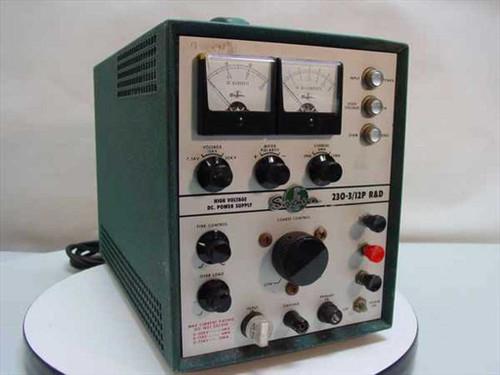 Sorensen 230-3/12  Power Supply R&D 7.5-30KV 3-12MA Variable