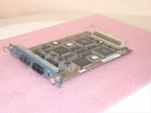 Cisco Systems WS-X3009  2-PORT 100BASE FX with ISL MODULE