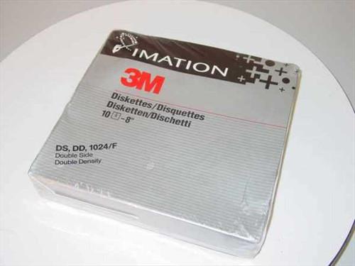 "3M / Imation 8"" Diskette  DS - DD- 1024/F Diskette"