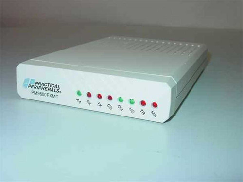 Practical Peripherals PM9600FXMT  9600 BPS Fax Modem