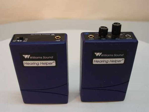 Williams Sound T30 & R31  Hearing Helper FM Transmitter and Receiver