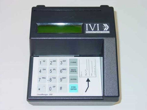 International Verifact Checkmanager 3000  IVI Checkmanager 3000 Check Reader