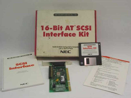 NEC 16-Bit AT SCSI Interface Kit TMC-1610M-NEC
