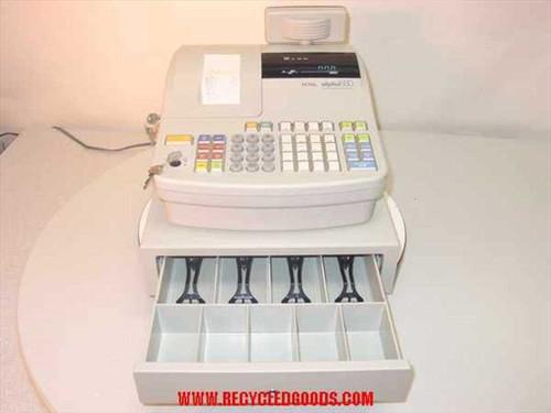 Royal Alpha 580  Cash Register w/Keys
