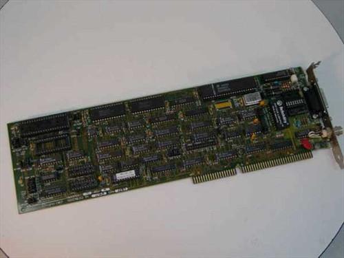 Hughes A003700-01  Coax 16-Bit ISA Network Card Vintage 1987
