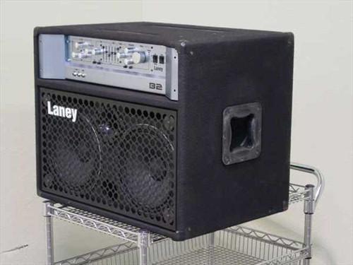 """Laney B2  Amp 750 Watt Bass 2x10"""" Tube /FET - Floor Model"""