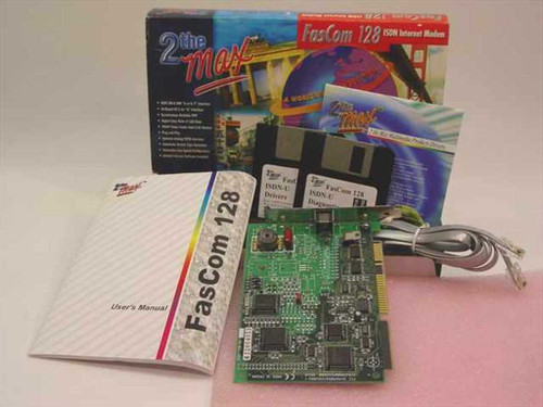 Focus Information Systems 2 the Max ISDN Internet Modem FasCom 128