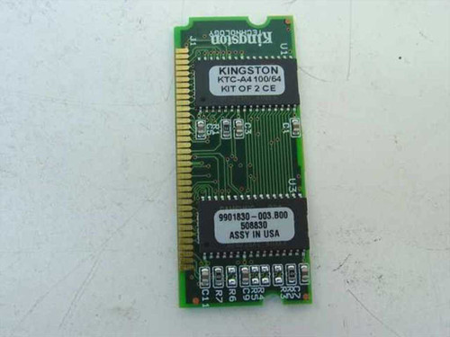 Kingston KTC-A4100/64  64MB SDRAM Laptop Memory