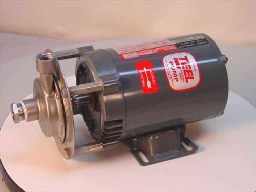 TEEL 1P799B  Straight Centrifugal Transfer Pump 1/2 HP 23 GPM