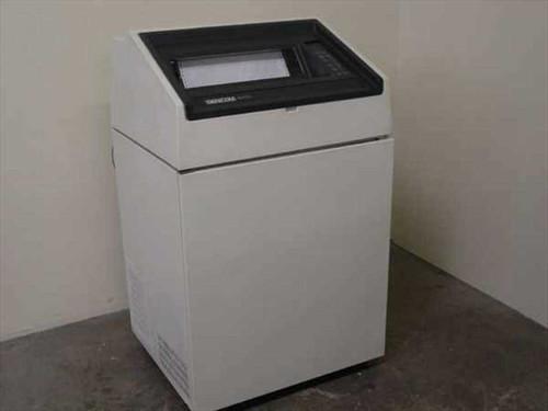 Genicom 4470  1200 Lines Per Minute Shuttle Matrix Line Printer