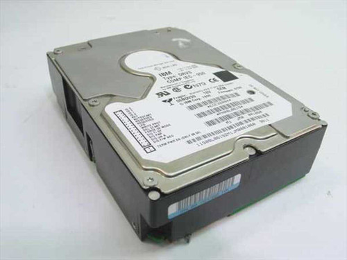 "IBM 18GB 3.5"" HH SCSI Hard Drive 68 Pin Type DRVS 08L8619"