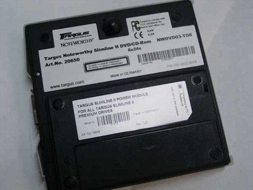 Targus NWDVD03-TO8  CD/DVD Drive External