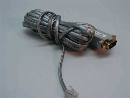 Cable Converter  RJ-11 to 9-Pin DB9 Telephone Serial Cable