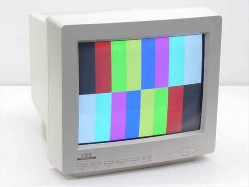 """CTX 1565D  15"""" SVGA Color CRT Monitor - No Stand"""