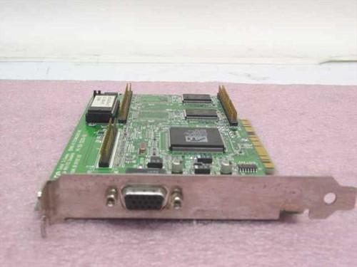 ATI 102-38207-01  PCI Video Card Mach64 3D Rage II GT 2MB