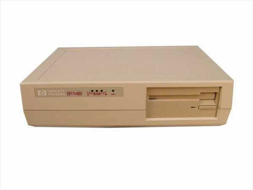 "HP 9114B  Portable 3.5"" Floppy Disc Drive w/ INET & Power-II"