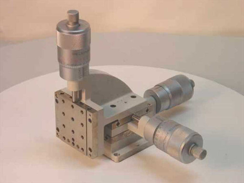 Line Tool Co H RH  X- Y-Z Axis Micropositioner