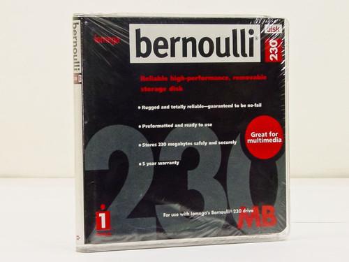 Bernoulli 230MB  Bernoulli 230 Disk for 230 Drive