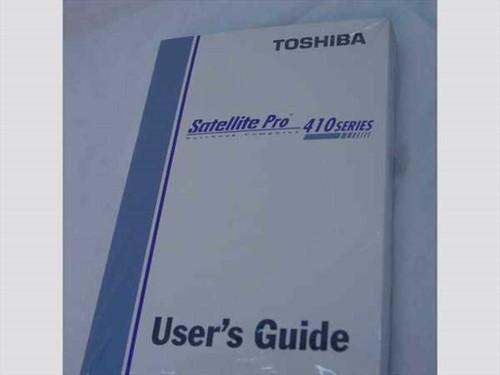 Toshiba Satellite Pro 410 Series  User's Guide