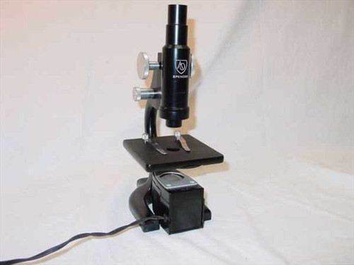 American Optical Spencer  Classic Vintage Spencer Microscope w/Case