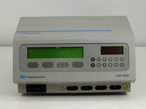 E-C Apparatus 3000P VWR High-Voltage DC Electrophoresis Power Supply