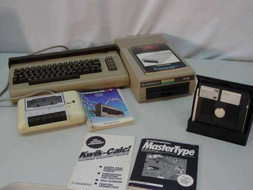 Commodore 64  Vintage Computer System with Accessories and Manua