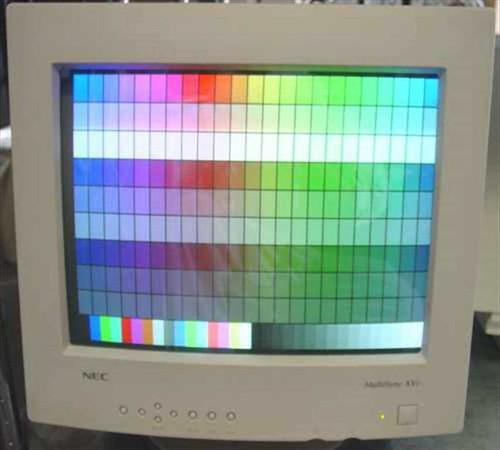 """NEC  JC-1734VMA  17"""" CRT SVGA Monitor XV17"""